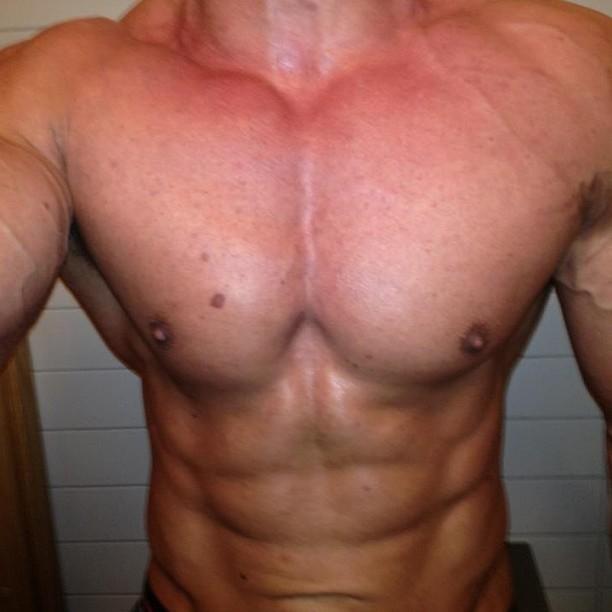 mathias zachau, deffad, fitness-tävling