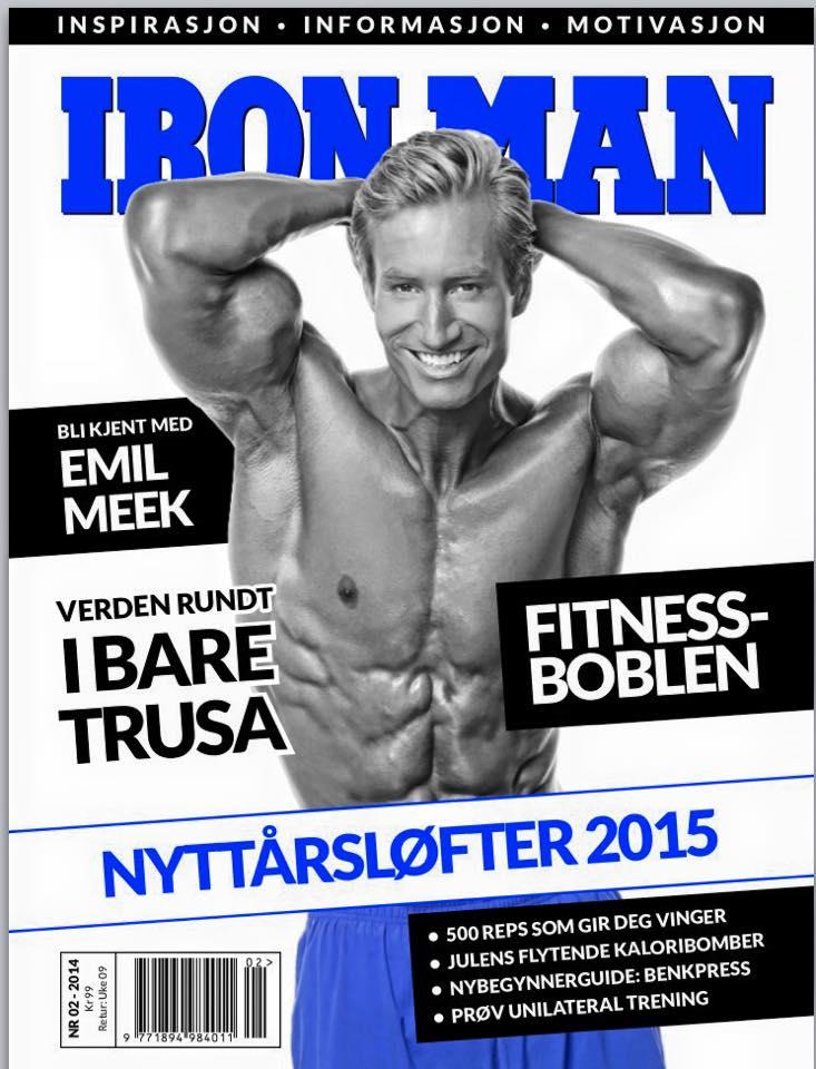 fitness coachen mathias zachau publicerad i norska iron man magazine