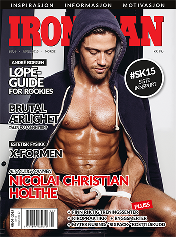 mathias zachau publierad i norska iron man - nummer 4