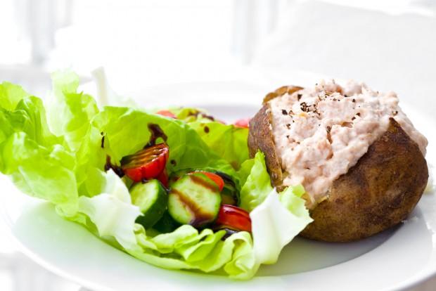 Tonfisk & majonäs med potatis