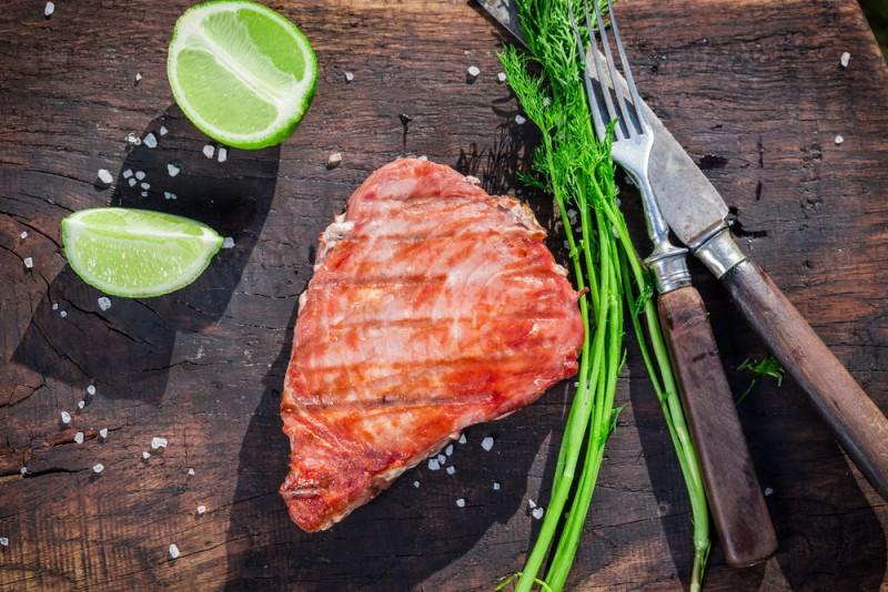 tonfisk för mer muskler