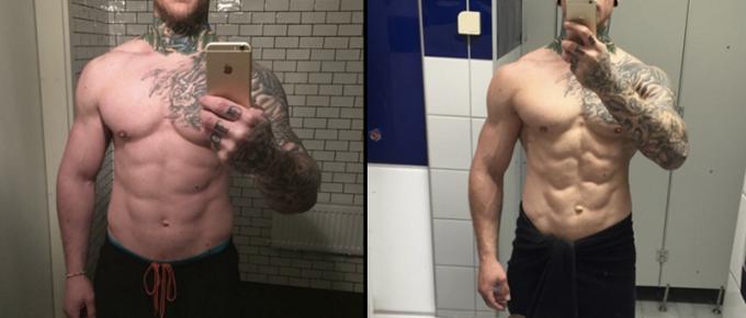 """Referens – Christoffer Eriksson: """"Har lärt mig hur man ska lägga upp kosten"""""""