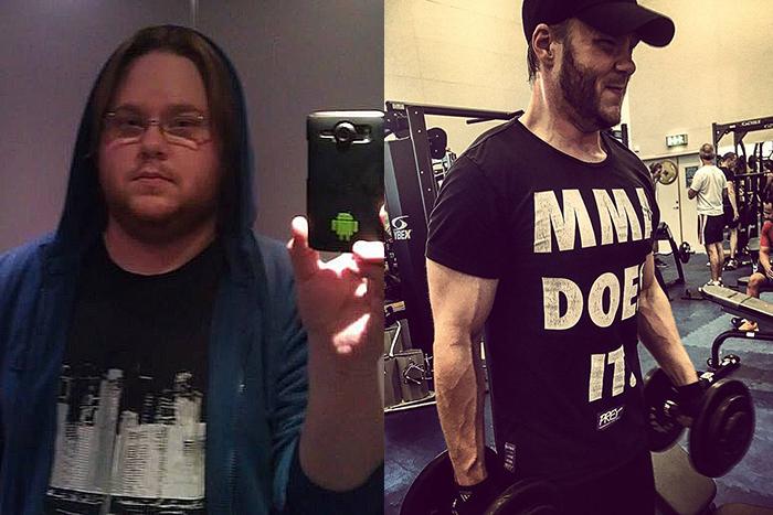 """Referens – Stefan Bensmo gick ner 60 kg: """"Jag har blivit mycket mer självsäker"""""""