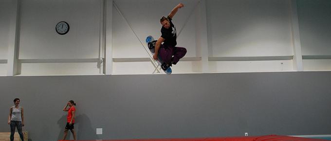 Världens bästa snowboard-tränare – Markus Rehn: om halfpipes och styrketräning