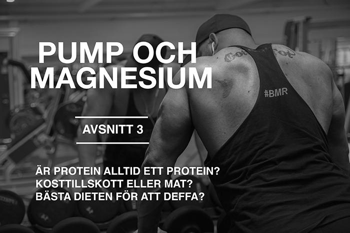 pump och magnesium avsnitt 3 - ar protein alltid ett protein