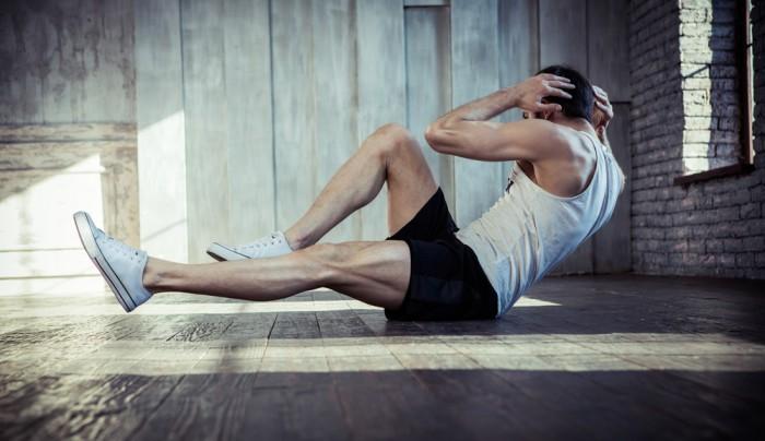 stressa musklerna