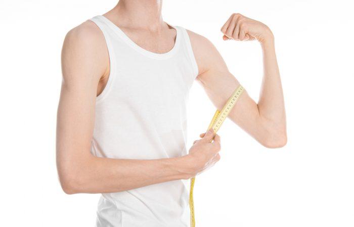 Från smal till muskler
