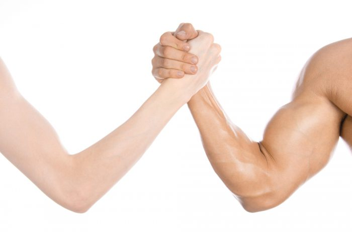Hur går man upp i vikt och hur bygger man muskler