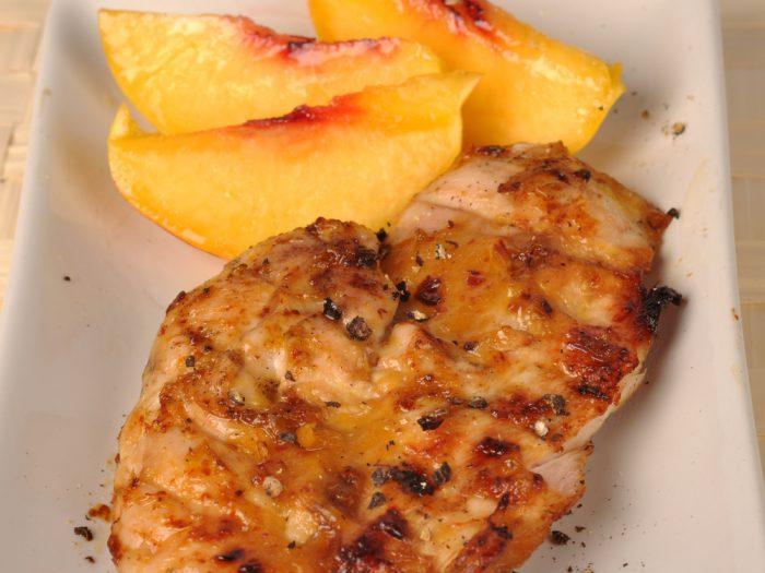 grillad kyckling med tillbehor