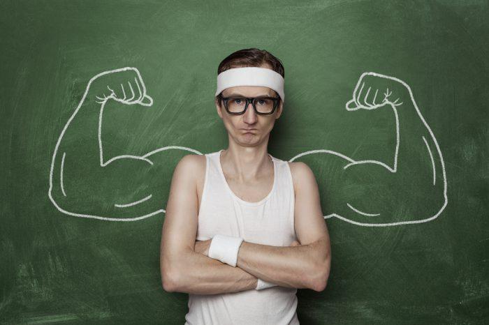 hur ofta trana muskler