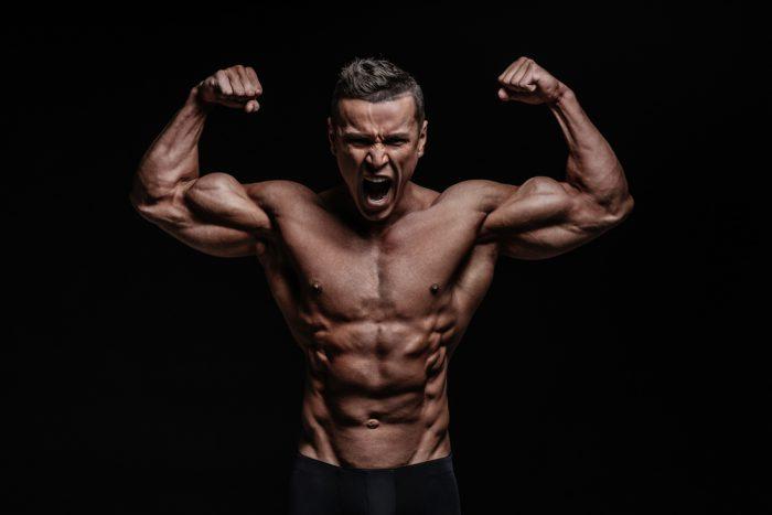 bygga muskler gym