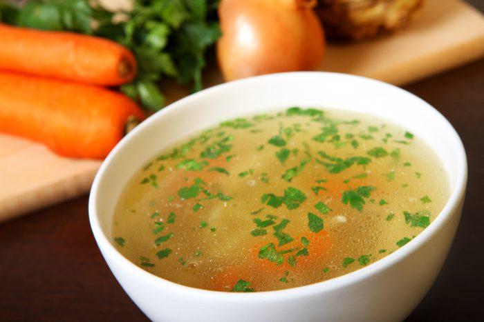 soppa kyckling