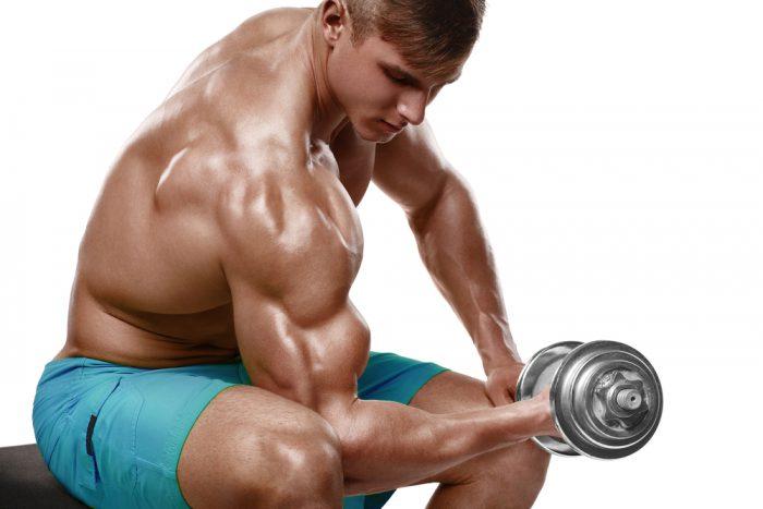 Bygg snygga biceps pa bara 10 minuter