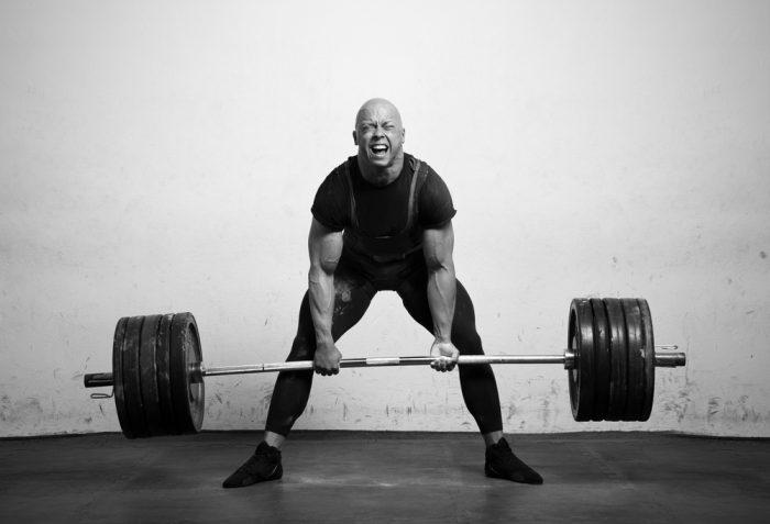 fuska med tekniken bygga muskler