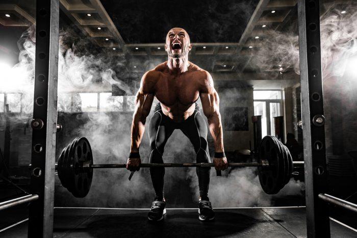 andning vid styrketraning
