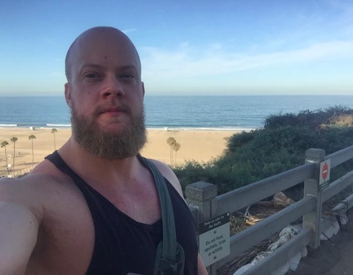 santa monica stranden