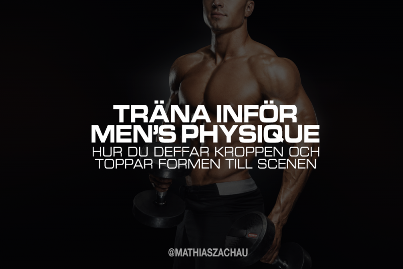 trana infor men's physique