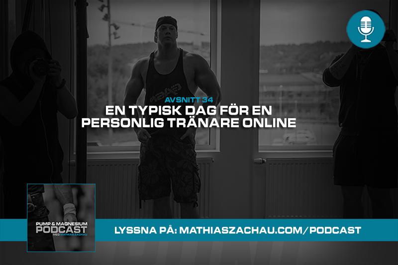 En typisk dag för en personlig tränare online – P&M #34