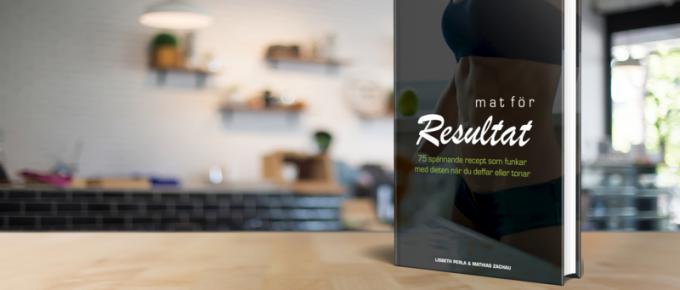 Nu finns receptboken Mat för resultat ute i butik – ladda ner den här