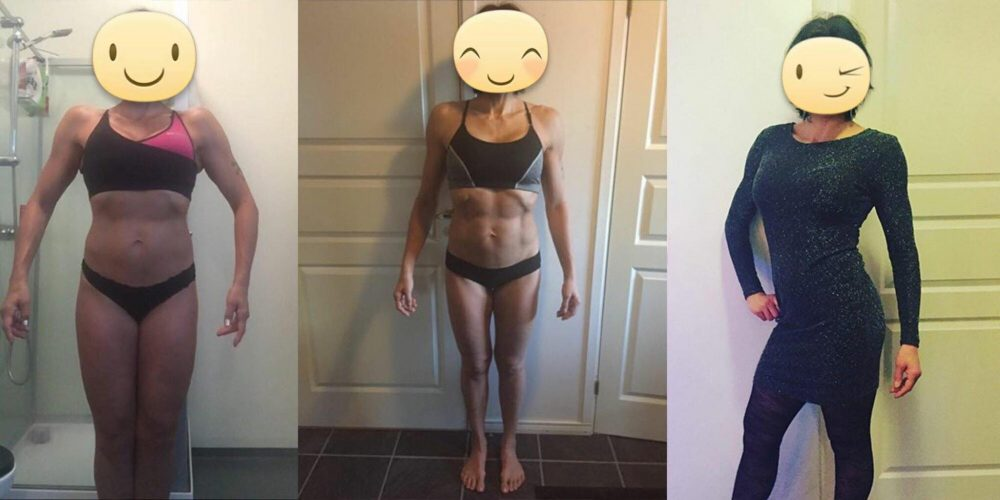 Så förändrades Åsas midjemått – med 4 månaders coachning