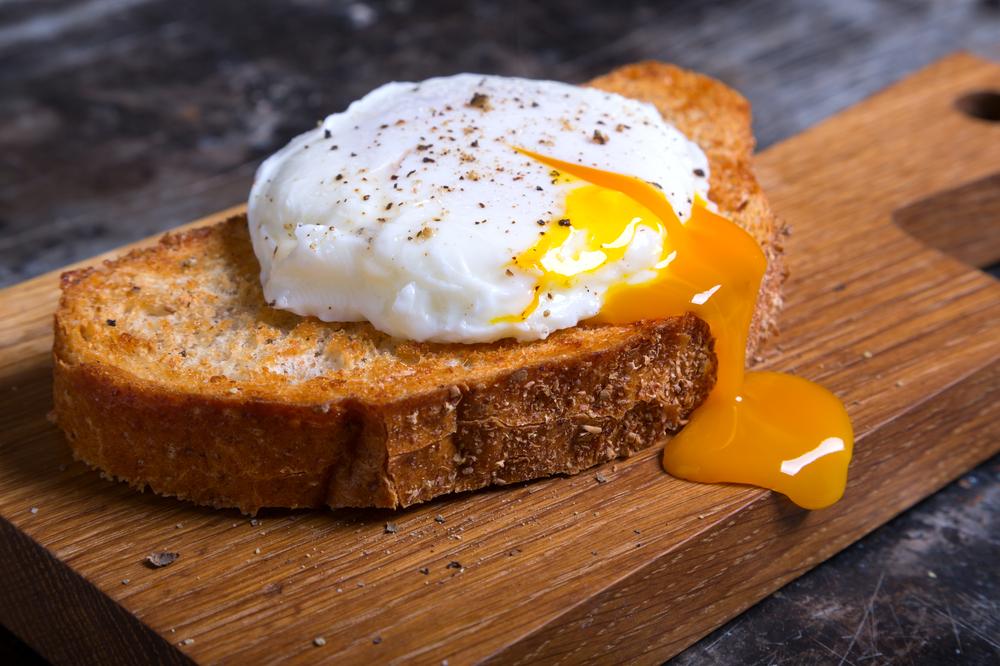 omelett på äggvita