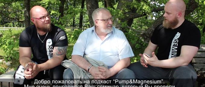 Boris Sheiko gästade Pump & Magnesium!
